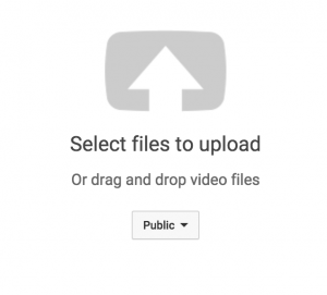 youtube upload icon